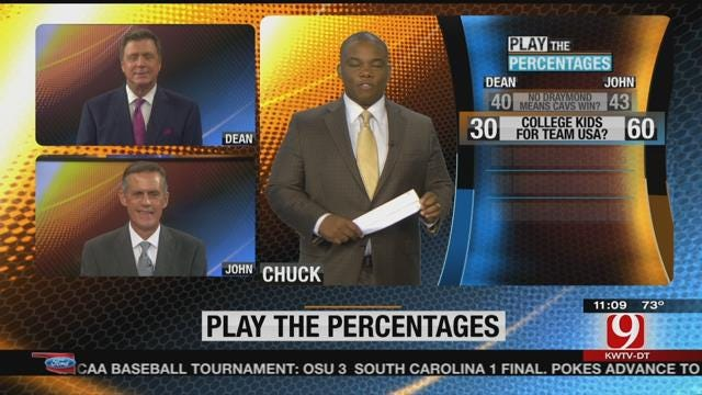 Play The Percentages: June 12