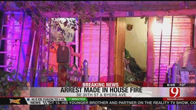 OKC Police Arrest Arson Suspect