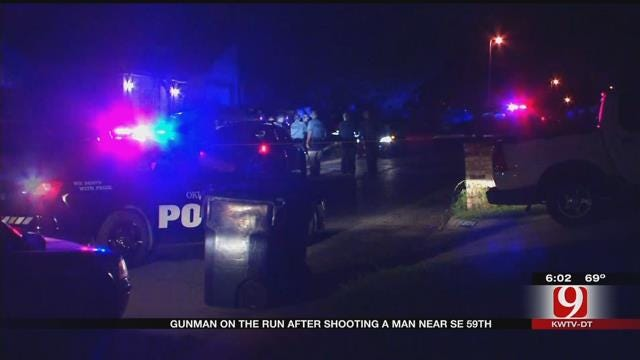 Police Search For Gunman After One Victim Shot In SE OKC