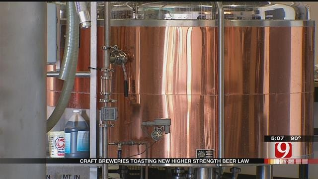 Changes Coming Soon For Oklahoma Brewers