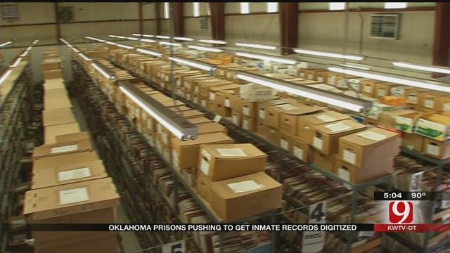 With Limited Budget, OK DOC Works To Digitize Inmate Files