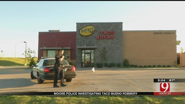 Fast Food Manager Held Up At Gunpoint During Robbery