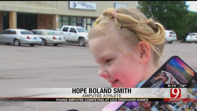 Shawnee Amputee, 9, To Compete In UCO Endeavor Games