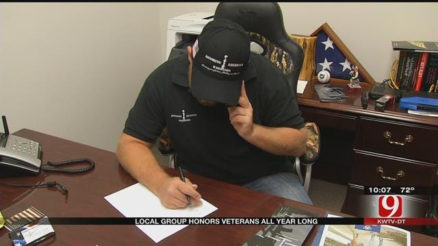 Local Group Honors Veterans All Year Long