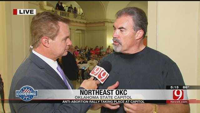 Anti-Abortion Rally Held At State Capitol