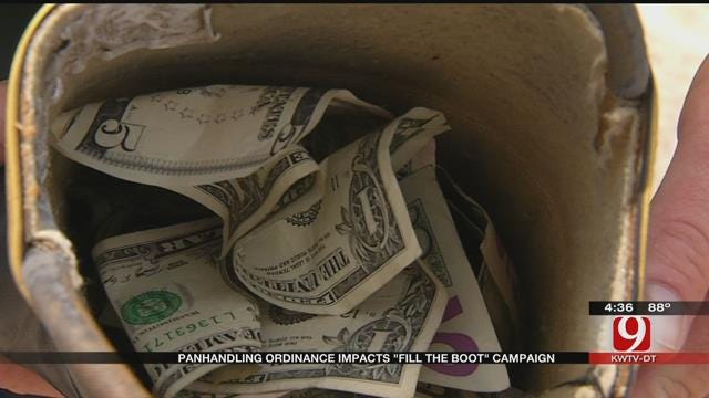 OKC Firefighters Work Extra Hard For 'Fill The Boot' Campaign