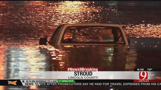 One Person Drowns After Flood Claims Car In Lincoln County