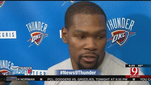 Thunder Look To Go Up 3-1 On Warriors Tuesday Night