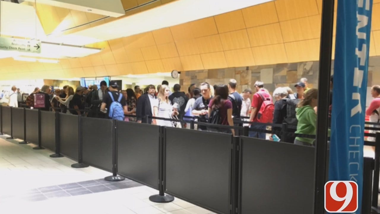 WEB EXTRA: Rachel Calderon Updates On Airport Security Check Wait Time