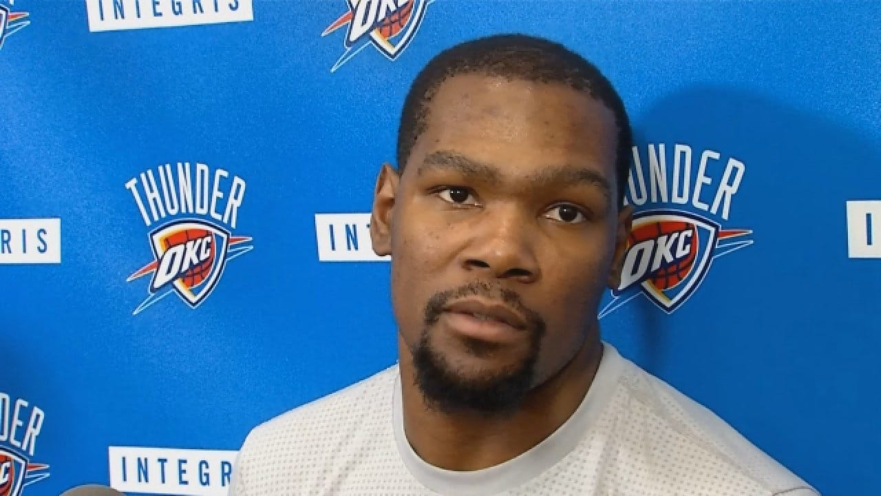 Kevin Durant Previews Game 4