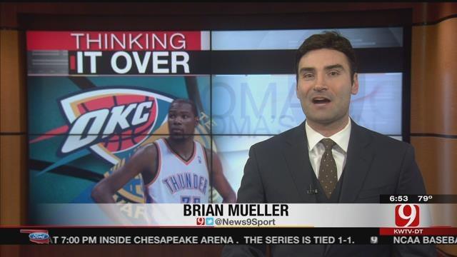Thunder Set To Host Game 3 Against Warriors Sunday Night