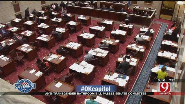 Oklahoma Senate Committee Passes Controversial Transgender Bathroom Bill