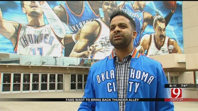 Fans Campaigning To Bring Back Thunder Alley