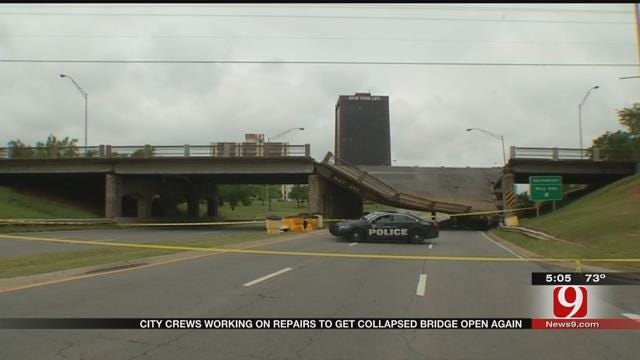 OKC Public Works Director Updates May Ave. Bridge Situation