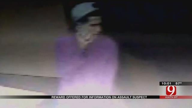OKC Police Offering Reward For Information On Assault Suspect