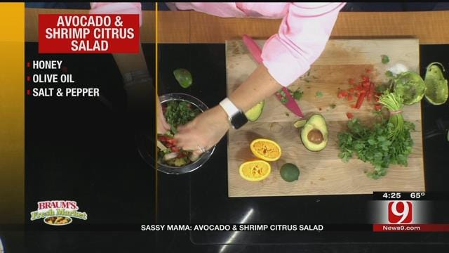 Avocado and Shrimp Citrus Salad