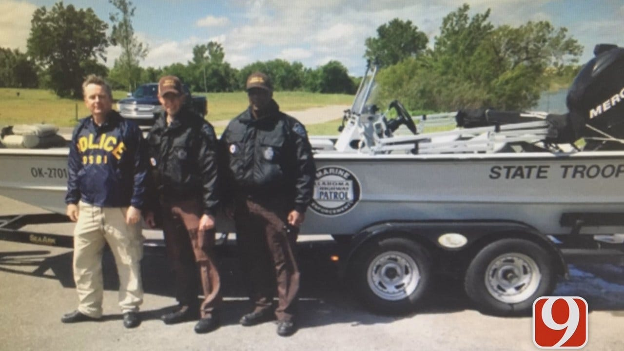 OSBI, OHP Search Canton Lake For Evidence In 2015 Murder Case