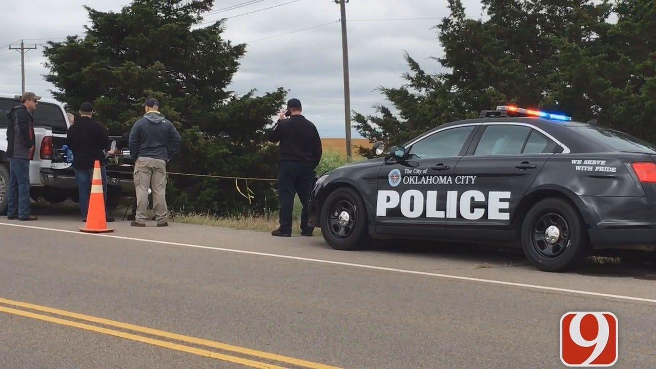 WEB EXTRA: Chris Gilmore Reports On Bones, Gun Found In OKC