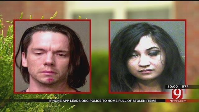 iPhone App Leads OKC Police To Home Full Of Stolen Items