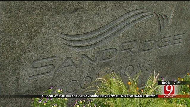 SandRidge Energy Files For Bankruptcy