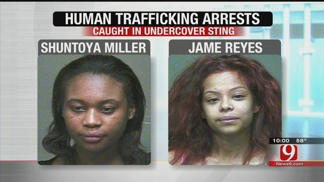 2 Women Arrested, Accused Of Sex Trafficking