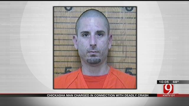 Chickasha Man Charged In Deadly Crash That Killed Girlfriend