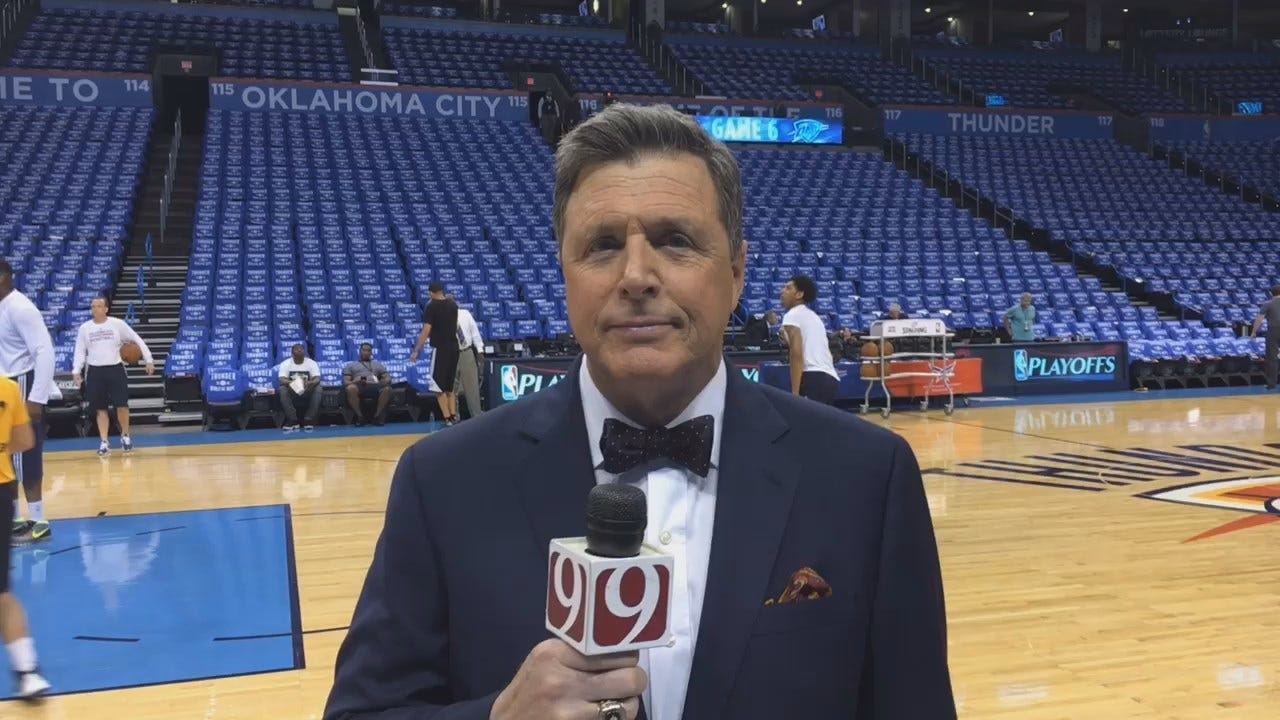 Dean Previews Thunder-Spurs Game 6