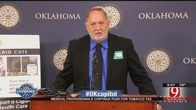 Oklahoma Health Leaders Continue Push For Tobacco Tax