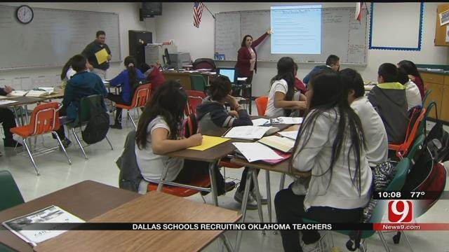 Dallas Schools Recruiting Oklahoma Teachers