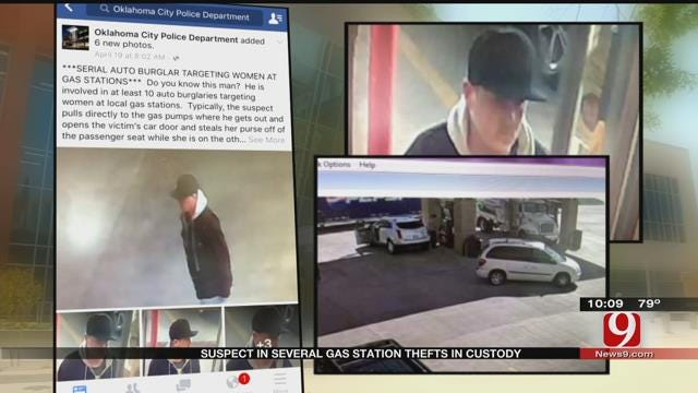 Police Arrest Man Accused Of 10 Vehicle Break-Ins