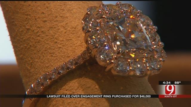 Oklahoma Couple Fights Over $46K Engagement Ring