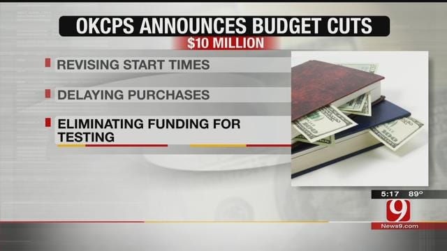 OKCPS Slashing Another $10 Million From The Budget