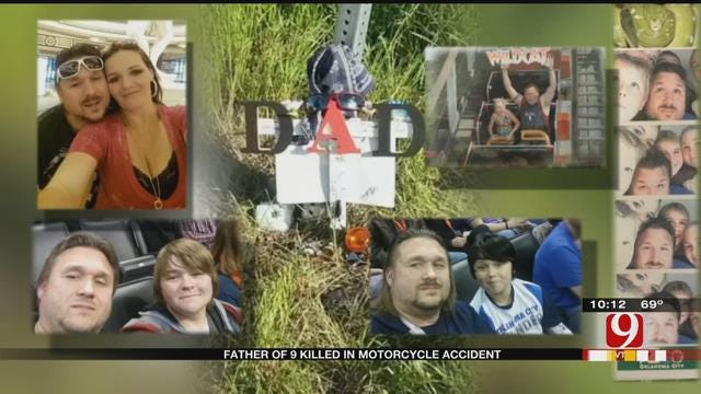 Father Of Nine Killed In Motorcycle Crash