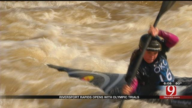 RIVERSPORT Rapids Opens With Olympic Trials