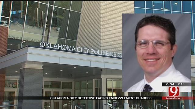 OKC Detective Faces Embezzlement Charges