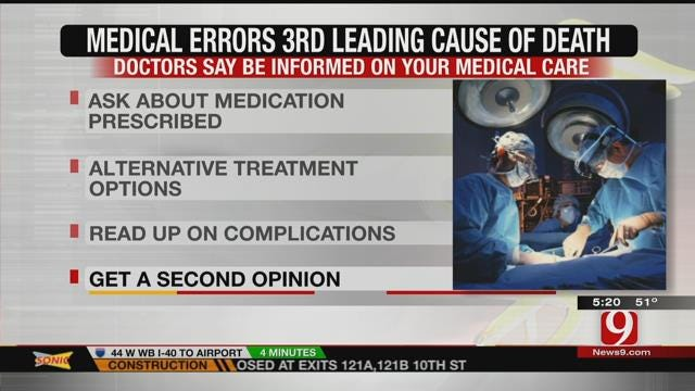 Medical Errors Now 3rd Leading Cause Of Death In U.S., Study Suggests