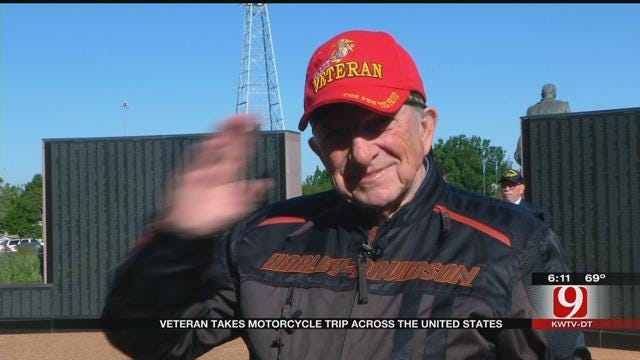 WWII Veteran Takes Motorcycle Trip Across The US