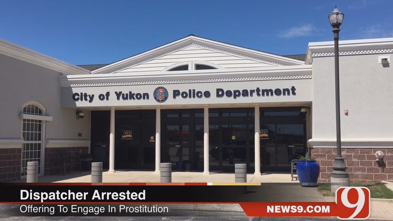 WEB EXTRA: Yukon Police Dispatcher Arrested On Prostitution Complaint