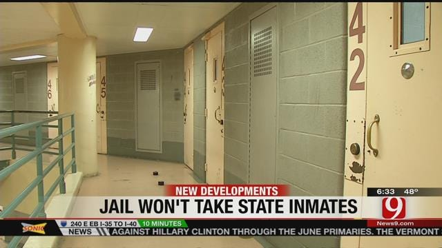 DOC To Stop Sending State Inmates To Oklahoma County Jail
