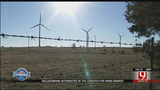 Survey Shows Oklahomans Interested In Tax Credits For Wind Power