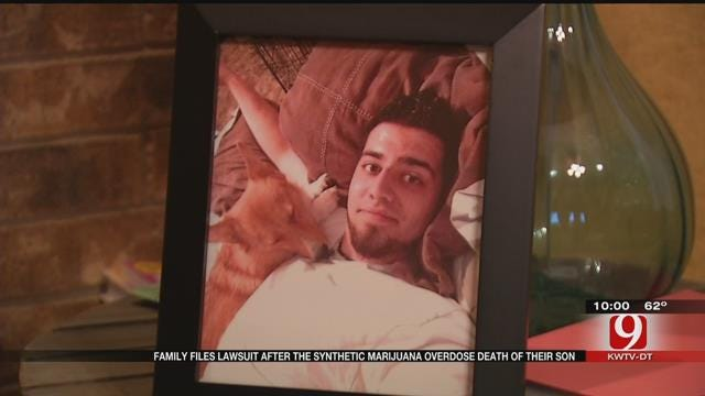 Family Files Lawsuit After Son's Synthetic Marijuana Overdose Death
