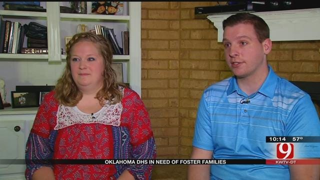 Oklahoma DHS In Need Of Foster Families