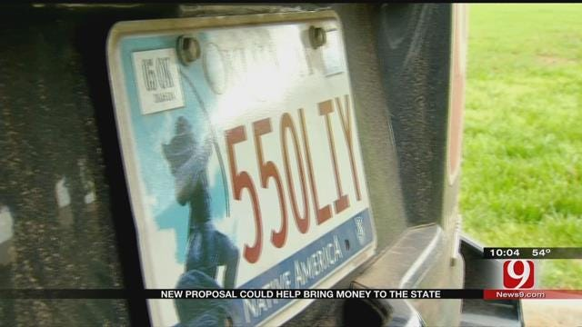 OK Safety Council Proposes Update To State License Plates