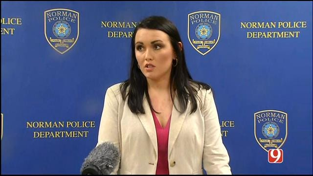 WEB EXTRA: Norman Police Holds News Conference On Murder Suspect
