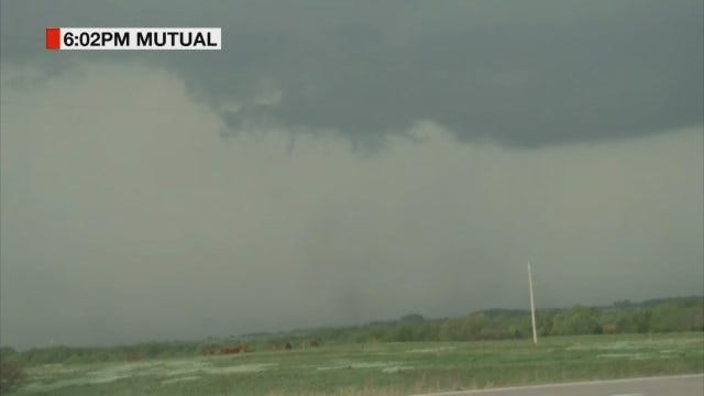 Storm Chaser Marty Logan Spots A Tornado In Woodward Co.