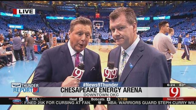 Thunder Report: OKC Looks To Close Out Mavs Series
