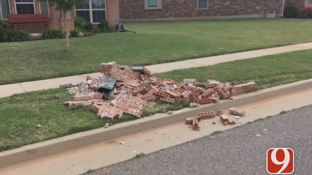 OCFD Chief Benny Fulkerson Explains Garbage Truck Into Homes Crash