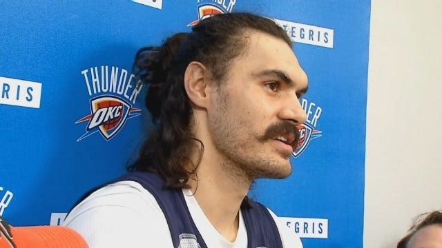 Thunder: Steven Adams Talks Closing Out Mavericks In Game 5