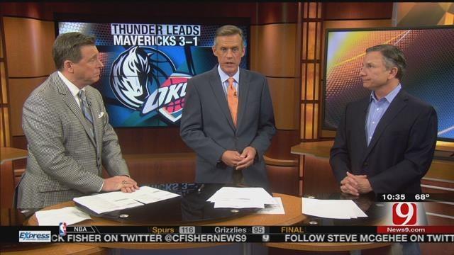 Matt Pinto Joins The Blitz To Talk Thunder Playoffs