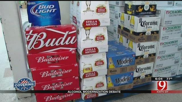 Alcohol Modernization Bill Passes After Spirited Debate